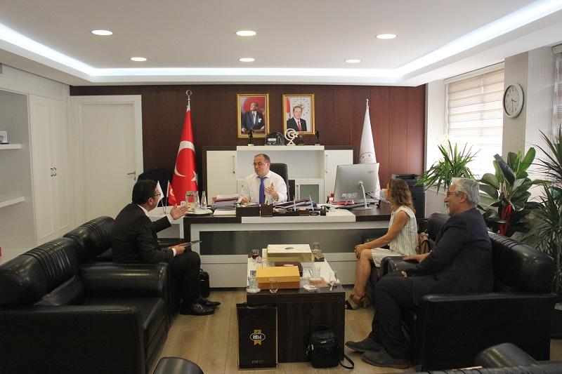 jmo Enerji ve Tabii Kaynaklar Bakan Yardımcısı Prof. Dr. Şeref Kalaycı