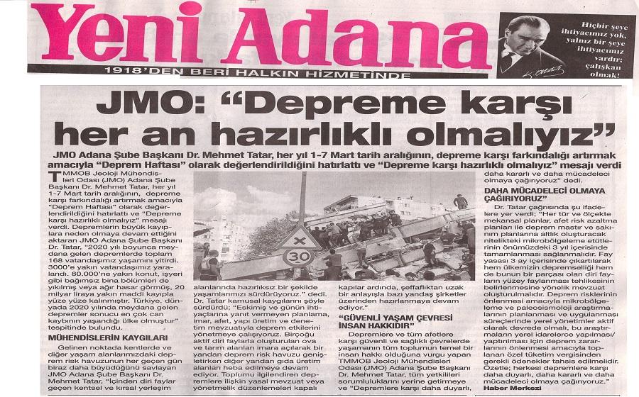 Yeni Adana Gzetesi