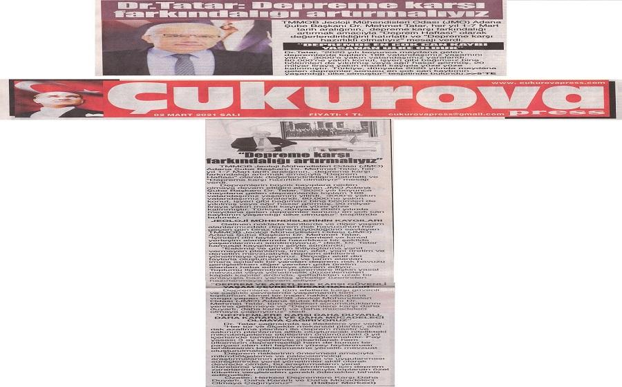Çukurova Press Gazeteasi
