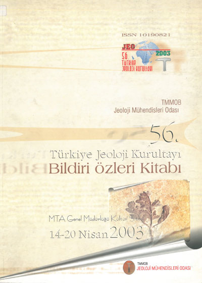 56. Türkiye Jeoloji Kurultayý