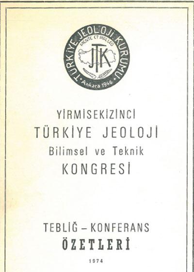 28.türkiye Jeoloji Kurultayý
