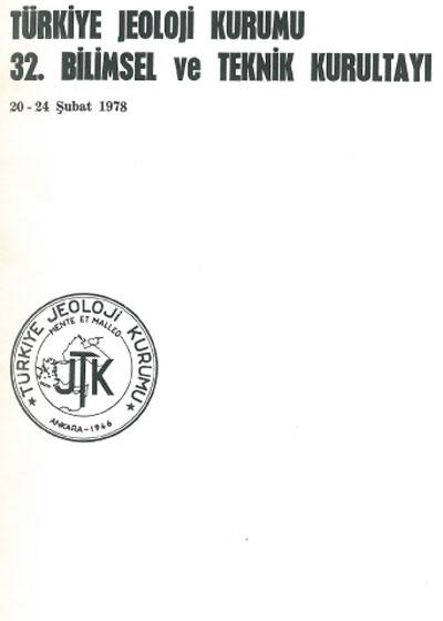 32.türkiye Jeoloji Kurultayý