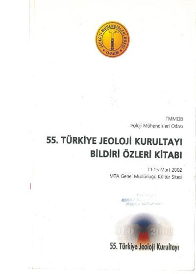 55. Türkiye Jeoloji Kurultayý