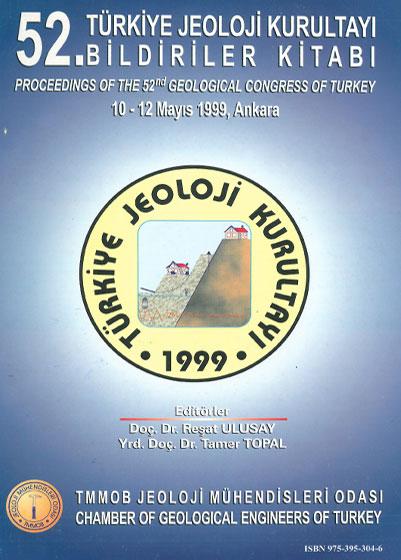 52. Türkiye Jeoloji Kurultayý