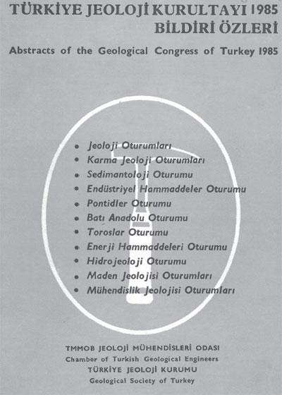 39.türkiye Jeoloji Kurultayý