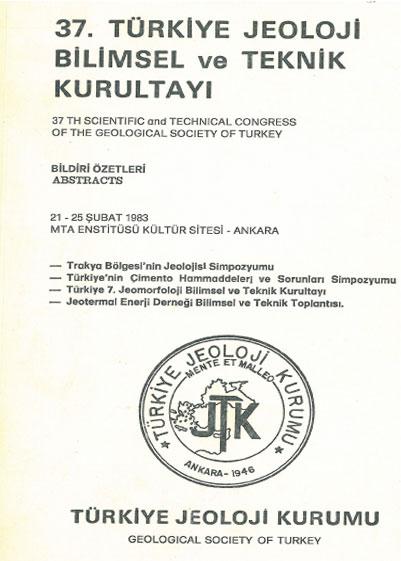 37.türkiye Jeoloji Kurultayý