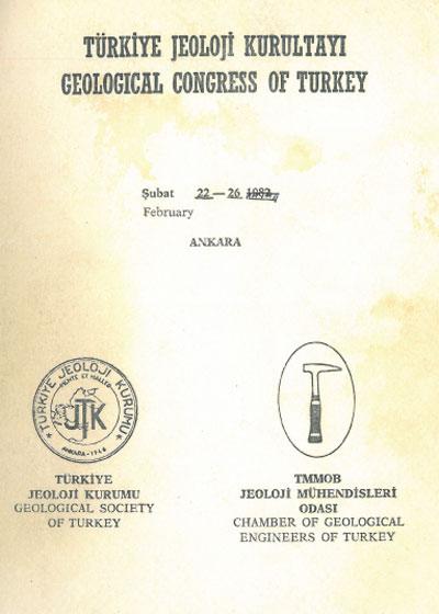 36.türkiye Jeoloji Kurultayý